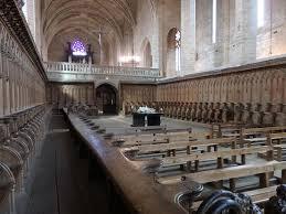 abbaye de la chaise dieu stalles et jubé picture of l abbaye de la chaise dieu la chaise