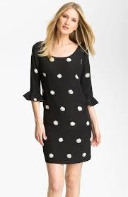 brainy mademoiselle polka dot dress