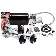 Compact Chrome Triple Truck Air Horn Kit - Kleinn Automotive ... Philippines 4 Trumpet Vehicle Air Horn 12v24v Compressor Tubing Hornblasters Jackass 228v Kit Best Rated In Horns Helpful Customer Reviews Amazoncom Universal Fourtrumpet Air Train Horn For Cartruckboat Kleinn Pro Blaster Train Kits Hella Dual 24v Autoelec Warehouse Online Shop 12v Car Boat Truck 178db Tone Complete System With Compressor Tank And New Chrome W 150 Psi 3 Liter Malaysia Loud Easy To Fit Tech 12v Truck Youtube