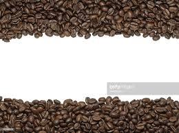 Coffee Beans Border Stock Photo