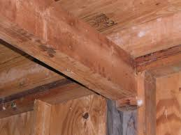 Sistering Floor Joists To Increase Span by Garage Ceiling Joists And Beam Question Building U0026 Construction