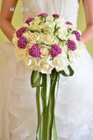 Hot Beautiful Wedding Bridal Bouquet Decorations Perfect Wedding