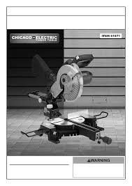harbor freight tile saw manual chicago electric saw 61971 user guide manualsonline