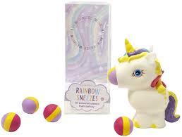 Cupcakes Cartwheels Rainbow Sneezes Unicorn Air Powered Ball Toy