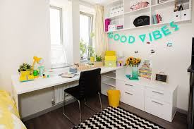Colourful Student Bedroom Decoration