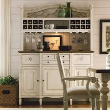 Shabby Chic Hutch With Built In Wine Service
