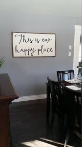 This Is Our Happy Place Wooden Sign Large By LavishOliveStudios
