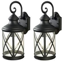 Menards Floor Reading Lamps by Black Outdoor Wall Light Fixtures With Sonoma 1 16 Twin Pack At