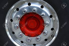Red Center Wheel Of A Truck With Chrome Rim,nuts And Bolts Stock ... Hd Truck News Lug Nuts September 2011 8lug Magazine Copper Chrome Truck Nutz Bumper Balls Bull 8 Tall 3995 5 Stupid Pickup Modifications Prep Spaced 32mm Chrome Trucks This Is A Prius With Nut Covers 38mm 10 Pack Semi Trailer Metal 15 Ebay Dodge Ram 1500 Questions Will My 20 Inch Rims Off 2009 Dodge 2017 Nissan Titan Thanks The Lone Star State With Texas Duplex Spline Acorn Long 7 Custom Automotive Packages Offroad 20x10 Fuel Bolt Abs Cover Installation Amazoncom Pink