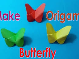 How To Make An Easy Origami Butterfly Paper Butterflies