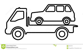 100 Tow Truck Vector Car On A Tow Truck Stock Vector Illustration Of Service 99297001