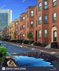 100 Row Houses Architecture Boston South End Architecture Brick Apartment Buildings