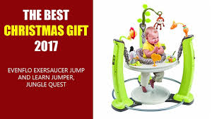 THE BEST CHRISTMAS GIFT 2017 - Evenflo ExerSaucer Jump And Learn Jumper,  Jungle Quest Evenflo Quatore 4in1 High Chair Lake Best Baby Exaucers Of 20 Keep Em Engrossed Curious Trillo 3in1 Pink Symmetry Flat Fold Hayden Dot Walmartcom Styles Trend Portable Chairs Walmart Design Custom High Chair Cusonhigh Cover Exsaucer Jump Learn Jungle Quest Stationary Jumper New Open Box Evenflo Car Seat Covers Triumph Lx Convertible Fava Beige Daphne Chairs Kinja Deals On Twitter Save Seats Strollers And
