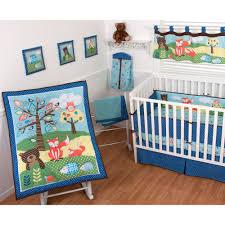 Winnie The Pooh Nursery Bedding by Sumersault Foxy Friends 9 Piece Nursery In A Bag Crib Bedding Set