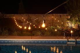 100 ft mercial Outdoor String Lights Drop Socket
