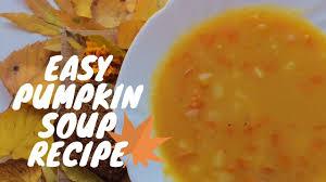 Pumpkin Bisque Recipe Vegan by Vegan Pumpkin Soup Recipe Fall Edition Youtube