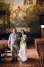 santa barbara courthouse wedding bernit bridal