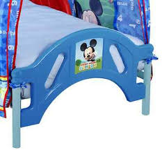 toddler bed mickey mouse clubhouse tent what s it worth