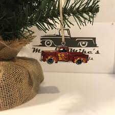 100 Ford F1 Truck Hot Wheels Christmas Ornament 1949 49 Pickup Truck Welcome