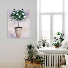 artland wandbild winterjasmin pflanzen 1 st in vielen größen produktarten leinwandbild poster wandaufkleber wandtattoo auch für