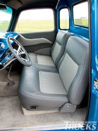 100 Pickup Truck Seat Covers 1954 Chevy S S Accessories And