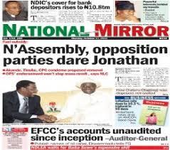 National Mirror Newspaper Information