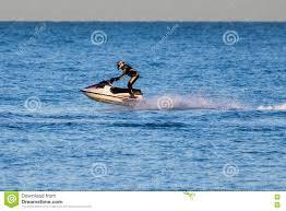 100 Rubber House Dungeness DUNGENESS KENTUK DECEMBER 17 Man Riding A Jet Ski Off