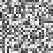Black And White Mosaic Tile Background Texture