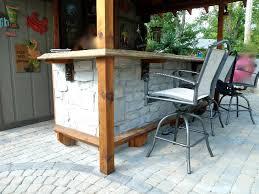 Patio Bar Design Ideas by Diy Outdoor Bar Attractive Diy Outdoor Bar U2013 Design Remodeling