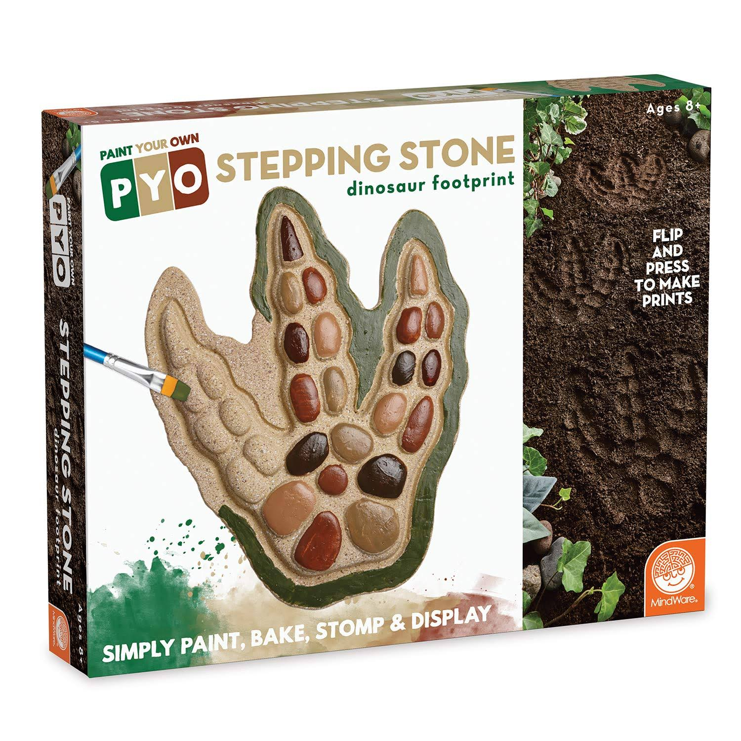 MindWare Paint Your Own Stepping Stone - Dinosaur Footprint