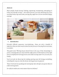 A House Your Home Is Easier Than You Tips For An Easy House Move In Canberra Make Your Move