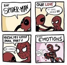 spiderman and deadpool comics amino