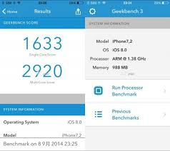 Leaked iPhone 6 Benchmarks Reveal A8 CPU Clock Speed RAM More