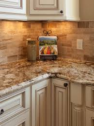 Log Cabin Kitchen Backsplash Ideas by Traditional Tuscan Kitchen Makeover Hgtv Traditional And Kitchens