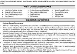 Universal Banker Resume From Example Good Sarahepps