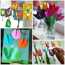 Tulip Crafts For Kids To Make