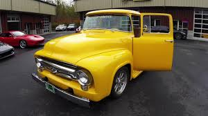 1956 Ford F100 Resto-Mod Pickup Truck For Sale - YouTube Used 1956 Ford F100 460 Big Block Auto Ac Ps Pb Pw Rotisserie For Sale Near Cadillac Michigan 49601 Classics On Bbw Custom Cab Pickupreal Back Window Truckdo Picking This Up Saturday Truck Enthusiasts Forums Pin By Michael Schmber Michaels 56 Pinterest Bodie Stroud Restomod Is Lovers Dream 1957 Chevy Trucks Chevy Cameo M2 Machines Projects 164 Pickup Black Sale Classiccarscom Cc993085 Flatbed The Barn