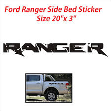 100 Ford Stickers For Trucks Car Sticker FORD RANGER SVT Pick UP Side Bed Lettering Decal