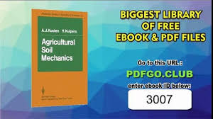 Agricultural Soil Mechanics Advanced Series In Sciences Softcover Reprint Of Edition By Koolen