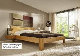 bett systembett schlafzimmer kiefer massiv gelaugt geölt überlänge kopfteil lanatura