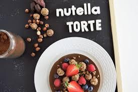 nutella schokotorte ohne backen glutenfrei vegan