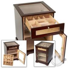 Cigar Humidor Cabinet Combo by Galleria Cabinet Humidor Cigars International