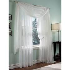 Boscovs Kitchen Curtains by Roma Ii Voile Sheer Rod Pocket Collection Boscov U0027s