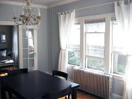Awful Black And White Dining Room Curtains