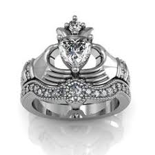 Sterling Silver Claddagh Ring Stackable Claddagh Ring Silver Heart