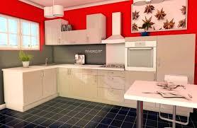 cuisine amenagee en u cuisine en u intuerieur granit plan de travail en quartz