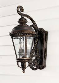 classic murray feiss ol1901gbz castle outdoor wall lantern design