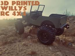 3D Printed Willys RC 4X4: 7 Steps