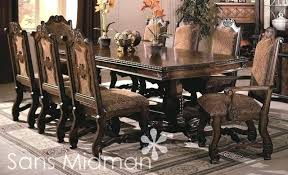 Stirring Dining Room Table Eight Chairs Comfortable Sets For Your