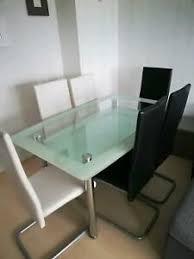 eßzimmer glastisch möbel gebraucht kaufen ebay kleinanzeigen